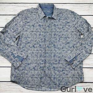 Pront Uomo Dress Shirt SIze XXL